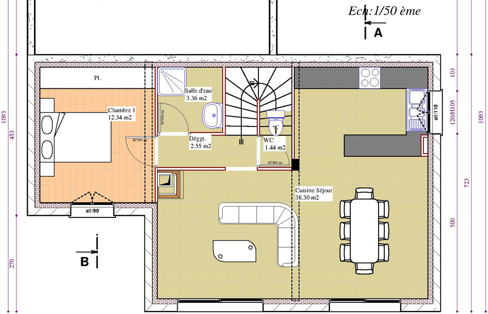 batir 48. Black Bedroom Furniture Sets. Home Design Ideas
