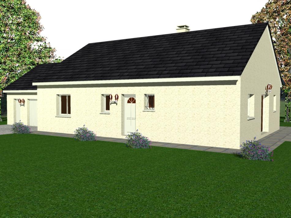 Maison Clé En Main + Terrain De 507 M² – Lotissement La Vigne