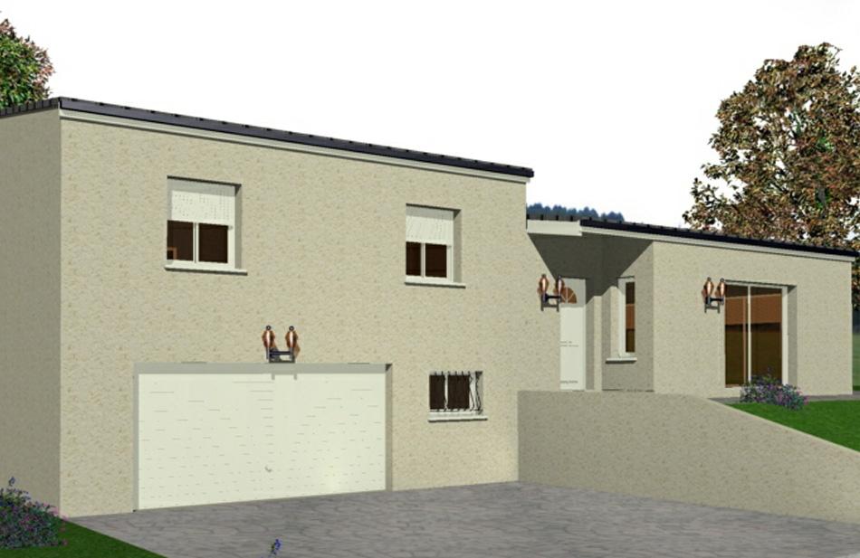 Modele exterieur maison affordable modele de contour de for Contour de fenetre exterieur