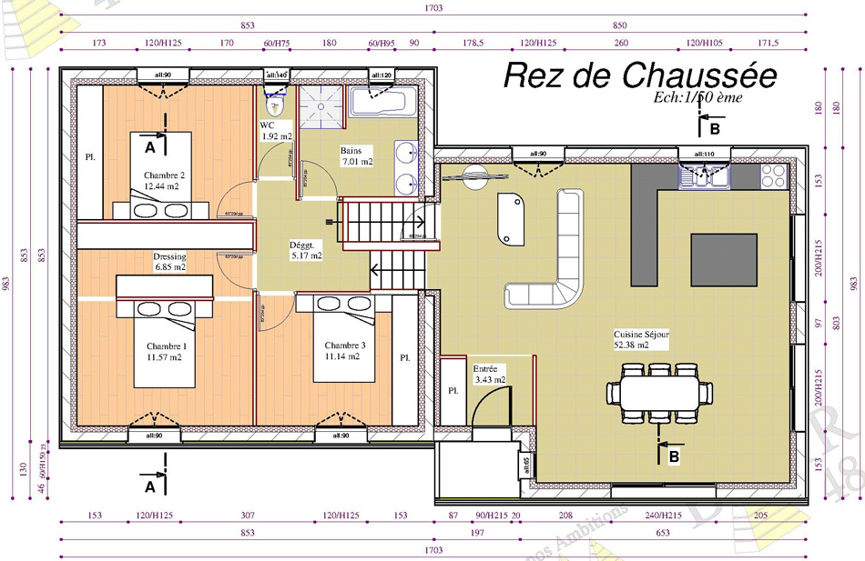 Mod le de maison 3 2017 batir 48 constructeur de for Maison modele victoriaville 2016