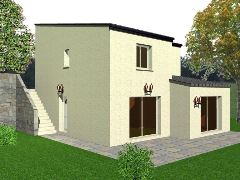 Maison clé en main + terrain 762 m² - Les Hauts de Recoulettes - Lot N°9